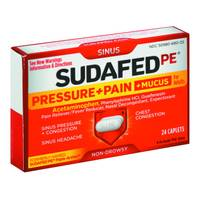 Sudafed 24 Count Sudafed Non-Drowsy Caplet from Blain's Farm and Fleet