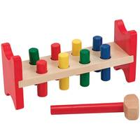 Melissa & Doug Wooden Pound-A-Peg from Blain's Farm and Fleet