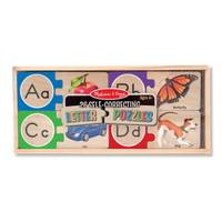 Melissa & Doug Self-Correcting Letter Puzzles from Blain's Farm and Fleet