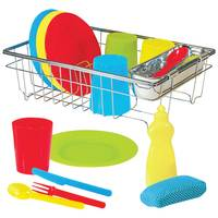Melissa & Doug Let's Play House! Wash and Dry Dish Set from Blain's Farm and Fleet