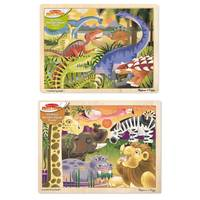 Melissa & Doug 24-Piece To The Rescue! Jigsaw Puzzle Assortment from Blain's Farm and Fleet