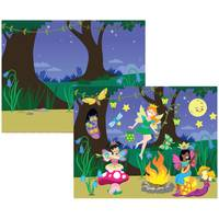 Melissa & Doug Fairies Reusable Sticker Pad from Blain's Farm and Fleet