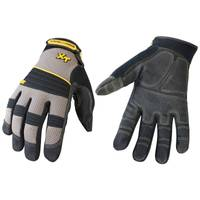 Youngstown Glove Men's Black and Gray Pro XT Gloves from Blain's Farm and Fleet