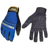 Youngstown Glove Men's Black and Blue Mechanics Plus Gloves from Blain's Farm and Fleet