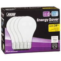FEIT Electric Energy Saving 43 Watt Halogen A19 from Blain's Farm and Fleet