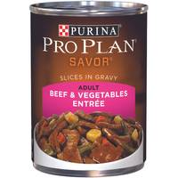 Purina Pro Plan Savor Beef & Vegetables Entree Adult Wet Dog Food from Blain's Farm and Fleet