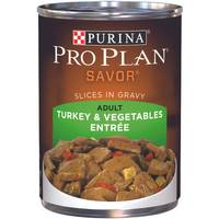 Purina Pro Plan Savor Turkey & Vegetables Entree Adult Wet Dog Food from Blain's Farm and Fleet