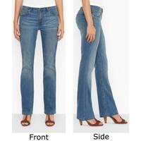 Levi's Women's Dark Wash Blue 515 Boot Cut Jeans from Blain's Farm and Fleet