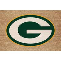The Memory Company Green Bay Packers Logo Door Mat from Blain's Farm and Fleet