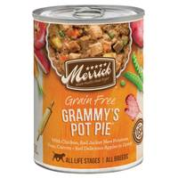 Merrick 13.2 oz Grain Free All Life Stages Grammy's Chicken Pot Pie Dog Food from Blain's Farm and Fleet