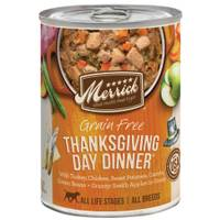 Merrick 13.2 oz Grain Free All Life Stages Thanksgiving Dinner Dog Food from Blain's Farm and Fleet
