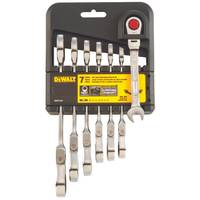 DEWALT Metric 7 Piece Flex Head Combo Ratcheting Wrench Set from Blain's Farm and Fleet