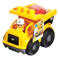 Mega Bloks Caterpillar Lil' Dump Truck from Blain's Farm and Fleet