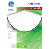 GE 100W G40 Soft White Bulb from Blain's Farm and Fleet