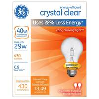 GE 2pk 29W Energy-Efficient Crystal Clear from Blain's Farm and Fleet