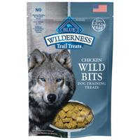 Blue Buffalo Wilderness 4 oz Trail Treats Chicken Wild Bits Dog Training Treats from Blain's Farm and Fleet