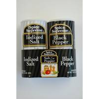 Spice Supreme Salt & Pepper Shaker Set from Blain's Farm and Fleet