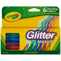 Crayola Glitter Markers from Blain's Farm and Fleet