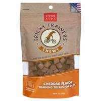 Cloud Star Tricky Trainers Chewy Dog Cheddar Training Treats from Blain's Farm and Fleet