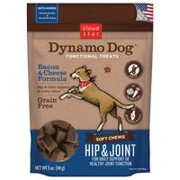 Cloud Star Dynamo Dog Joint Health Bacon & Cheese Flavored Soft Chews from Blain's Farm and Fleet