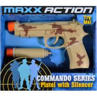 Maxx Action Comando Series Toy Pistol from Blain's Farm and Fleet