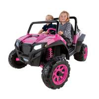 Peg Perego Pink Polaris RZR 900 Vehicle from Blain's Farm and Fleet