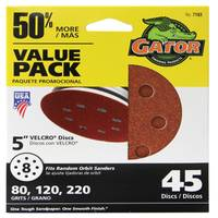 Gator Hook & Loop Sanding Discs Value Pack from Blain's Farm and Fleet