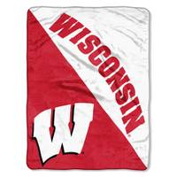 All Star Sports Wisconsin Badgers Micro Fleece Blanket from Blain's Farm and Fleet