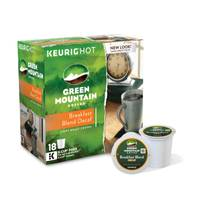 Green Mountain Coffee Decaf Breakfast Blend Coffee K - Cups from Blain's Farm and Fleet