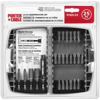 PORTER-CABLE 25 Piece Screwdriving Set from Blain's Farm and Fleet