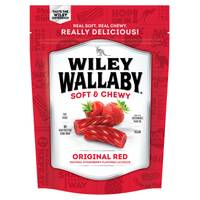 Wiley Wallaby Red Liquorice from Blain's Farm and Fleet