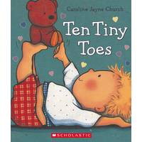 Scholastic Ten Tiny Toes Book from Blain's Farm and Fleet