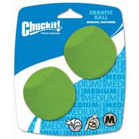 Chuckit! Medium Erratic Ball 2 Pack from Blain's Farm and Fleet