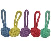 Multipet International Nuts for Knots Dog Rope with Tug Assortment from Blain's Farm and Fleet