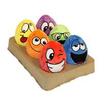 Multipet International Egg Noggins Dog Toys Assortment from Blain's Farm and Fleet