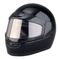 Raider Youth Black Snowmobile Helmet from Blain's Farm and Fleet