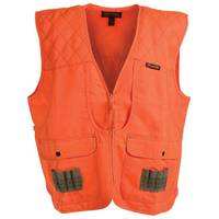 Gamehide Men's  Orange Front Loader Vest from Blain's Farm and Fleet