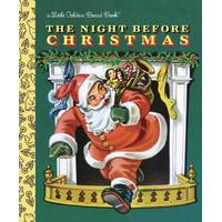 Little Golden Books Night Before Christmas Board Book from Blain's Farm and Fleet