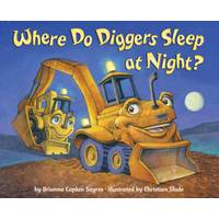 Little Golden Books Where Do Diggers Sleep at Night? Board Book from Blain's Farm and Fleet
