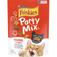 Friskies Party Mix Original Crunch Cat Treats from Blain's Farm and Fleet