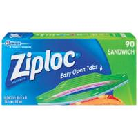 Ziploc 90 Count Sandwich Bags from Blain's Farm and Fleet