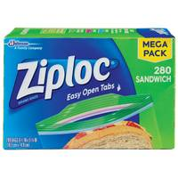 Ziploc 280 Count Sandwich Bags from Blain's Farm and Fleet