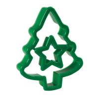 Wilton Christmas Tree & Star Topper Cookie Cutter from Blain's Farm and Fleet