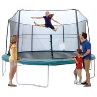 Jumpking 15' Trampoline with Enclosure from Blain's Farm and Fleet