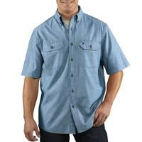 Carhartt Men's Short Sleeve Button Down Shirt from Blain's Farm and Fleet