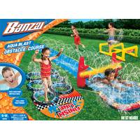 Banzai Aqua Blast Obstacle Course Slide from Blain's Farm and Fleet
