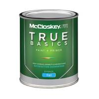McCloskey True Basics Exterior Flat White Paint & Primer from Blain's Farm and Fleet