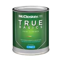 McCloskey True Basics Exterior Flat Clear Base Paint & Primer from Blain's Farm and Fleet