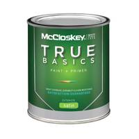 McCloskey True Basics Exterior Satin White Paint & Primer from Blain's Farm and Fleet