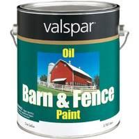 Valspar Barn & Fence Paint, Red Oil from Blain's Farm and Fleet